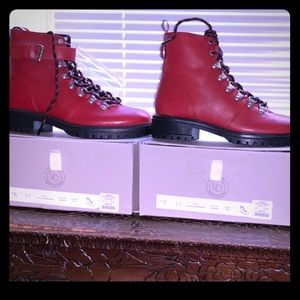 Nwt Red Boots